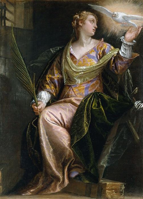Паоло Веронезе (Италия, Верона 1528-1588 Венеция) - Святая Екатерина Александрийская в темнице. Музей Метрополитен: часть 4