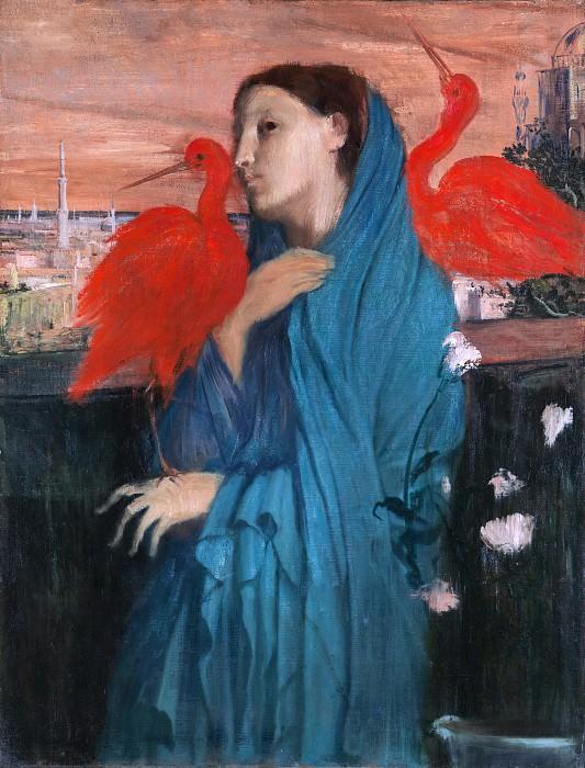 Edgar Degas - Young Woman with Ibis. Metropolitan Museum: part 4