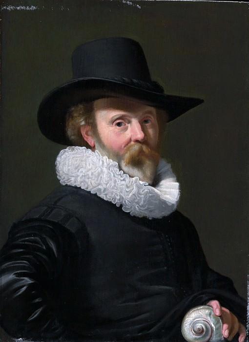 Thomas de Keyser 1596/97–1667 Amsterdam) - Portrait of a Man with a Shell. Metropolitan Museum: part 4