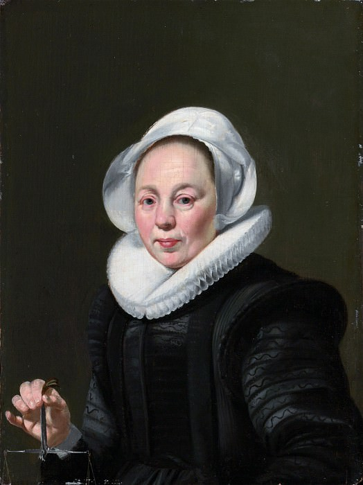 Thomas de Keyser 1596/97–1667 Amsterdam) - Portrait of a Woman with a Balance. Metropolitan Museum: part 4
