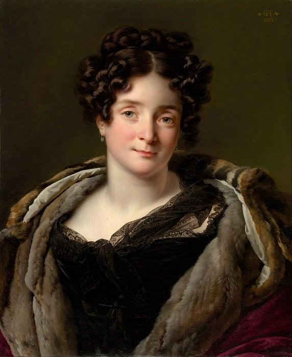 Anne-Louis Girodet-Trioson - Madame Jacques-Louis-Étienne Reizet (née Colette-Désirée-Thérèse Godefroy, 1782–1850). Metropolitan Museum: part 4