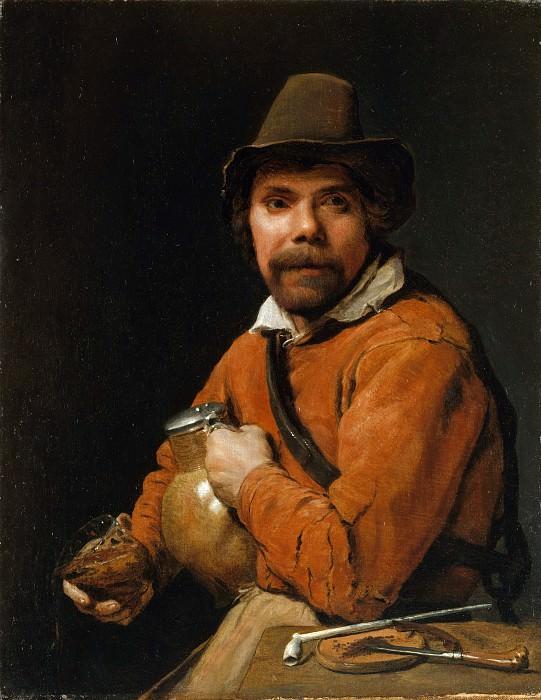 Michiel Sweerts - Man Holding a Jug. Metropolitan Museum: part 4