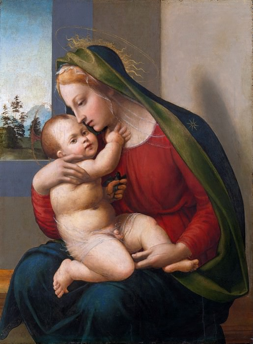 Francesco Granacci (Italian, Villamagna 1469–1543 Florence) - Madonna and Child. Metropolitan Museum: part 4