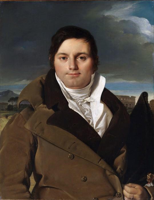 Jean-Auguste-Dominique Ingres - Joseph-Antoine Moltedo (born 1775). Metropolitan Museum: part 4