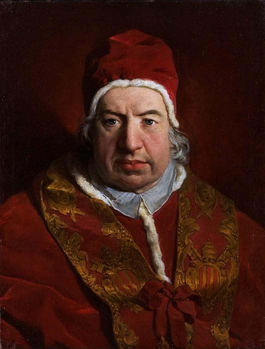 Pierre Hubert Subleyras - Pope Benedict XIV (Prospero Lambertini, 1675–1758). Metropolitan Museum: part 4