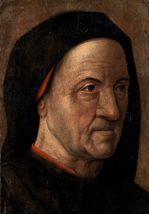 Circle of Hugo van der Goes - Portrait of a Man. Metropolitan Museum: part 4