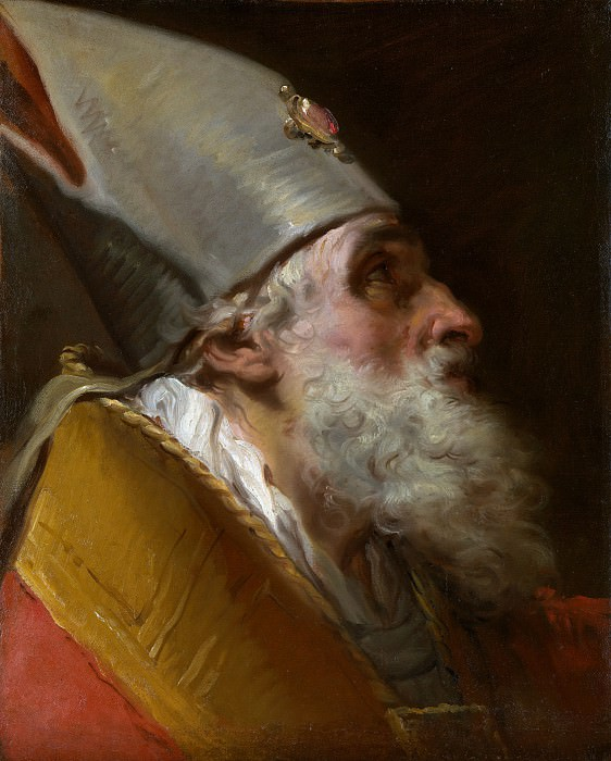 Gaetano Gandolfi - Head of a Bishop. Metropolitan Museum: part 4