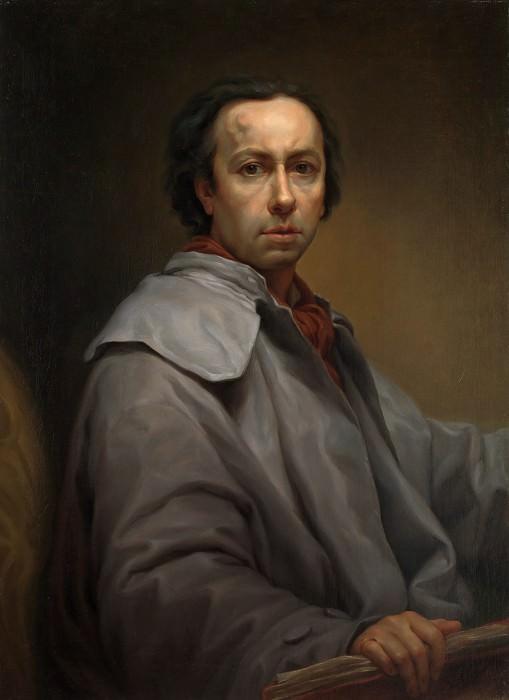 Anton Raphael Mengs - Self-portrait. Metropolitan Museum: part 4