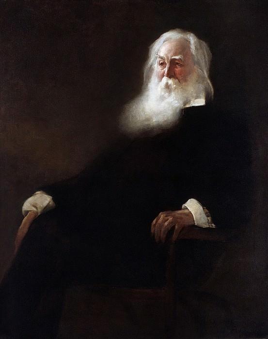 John White Alexander - Walt Whitman. Metropolitan Museum: part 4