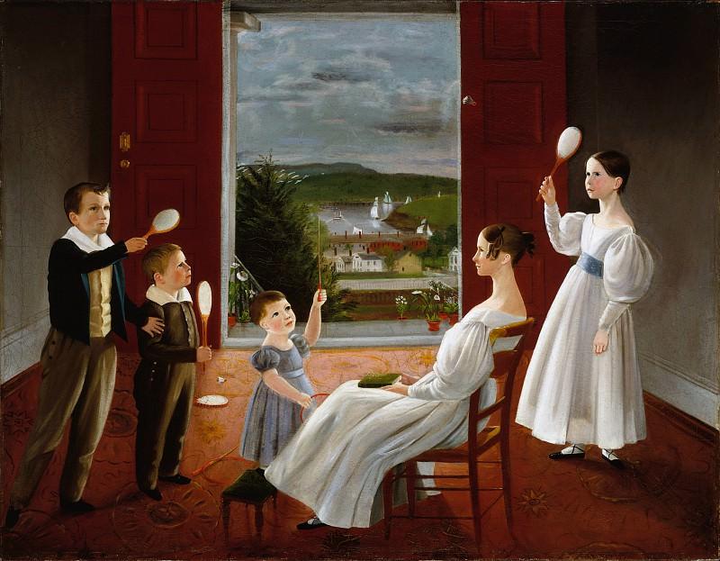 Ambrose Andrews - The Children of Nathan Starr. Metropolitan Museum: part 4