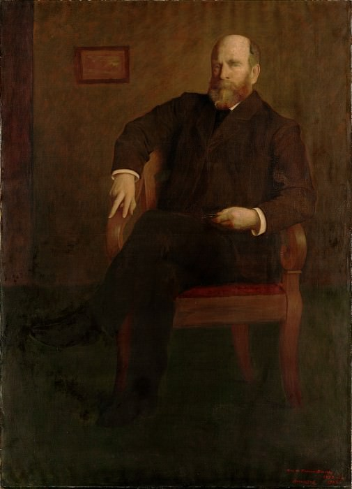 George de Forest Brush - Henry George. Metropolitan Museum: part 4