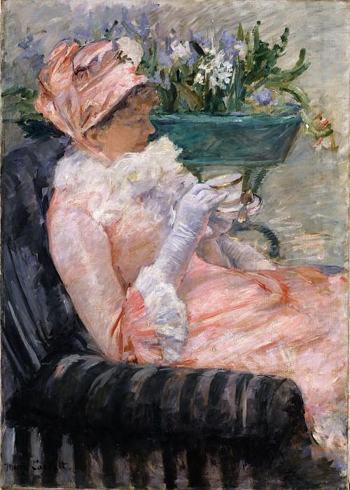 Mary Cassatt - The Cup of Tea. Metropolitan Museum: part 4
