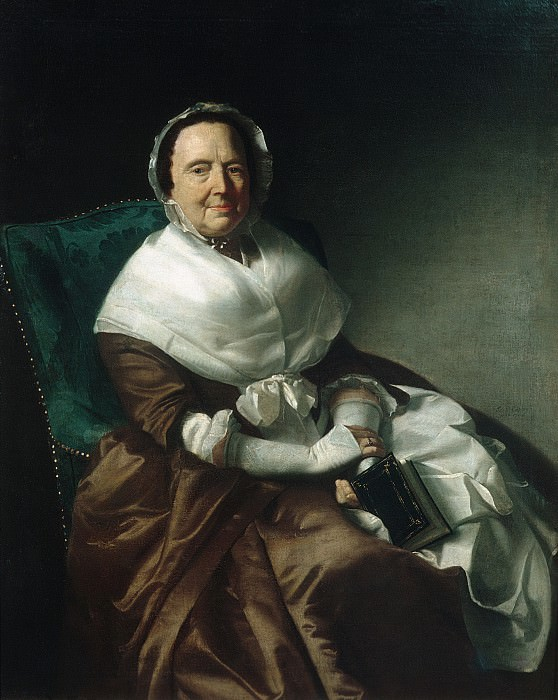 John Singleton Copley - Mrs. Sylvanus Bourne. Metropolitan Museum: part 4