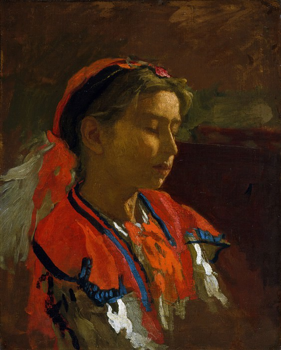 Thomas Eakins - Carmelita Requena. Metropolitan Museum: part 4