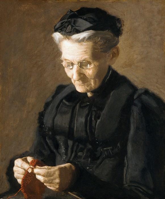 Thomas Eakins - Mrs. Mary Arthur. Metropolitan Museum: part 4