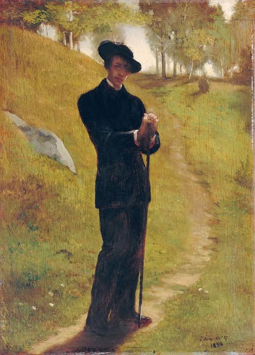 John La Farge - Portrait of the Painter. Metropolitan Museum: part 4