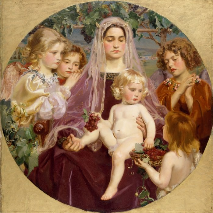 Frederick William MacMonnies - Madonna of Giverny. Metropolitan Museum: part 4