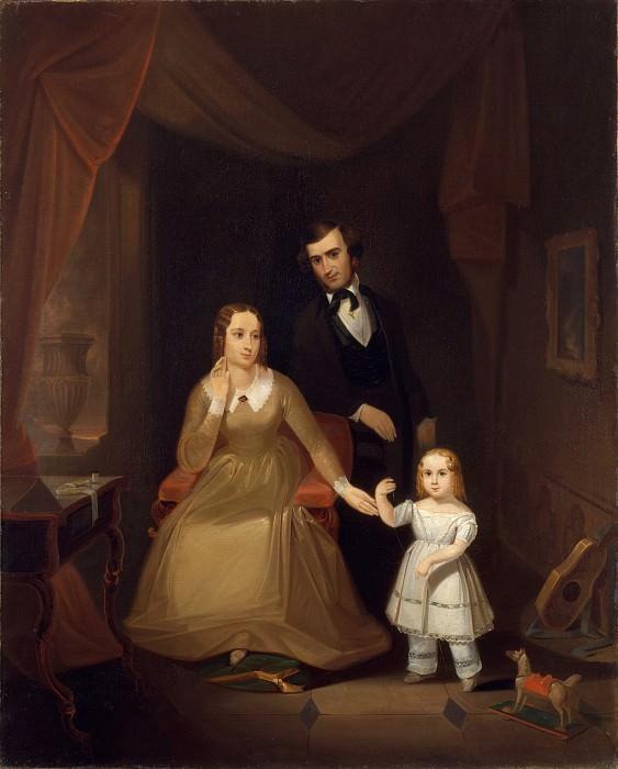 John Mix Stanley - The Williamson Family. Metropolitan Museum: part 4