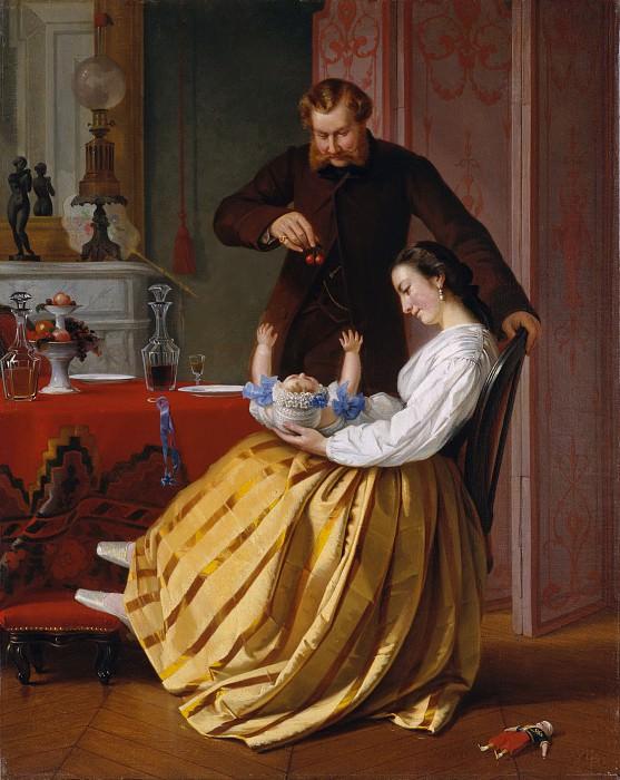 Lilly Martin Spencer - Conversation Piece. Metropolitan Museum: part 4