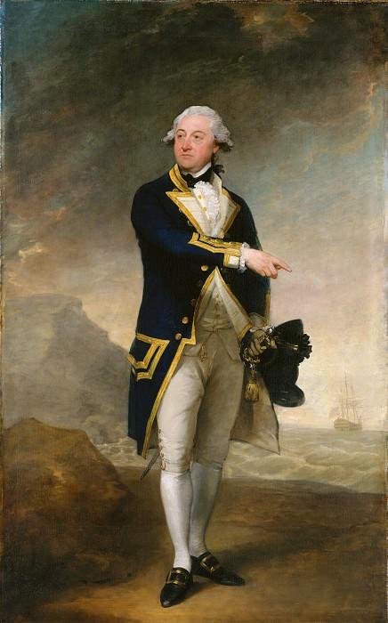 Gilbert Stuart - Captain John Gell. Metropolitan Museum: part 4