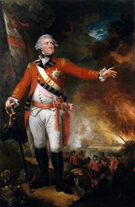 Mather Brown - General George Eliott. Metropolitan Museum: part 4