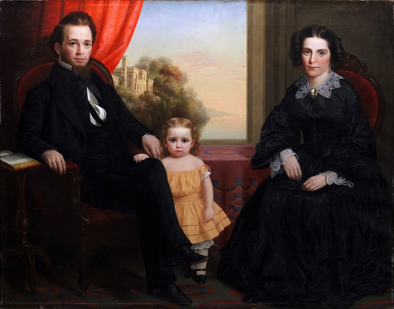 Unknown - A Family Group. Metropolitan Museum: part 4