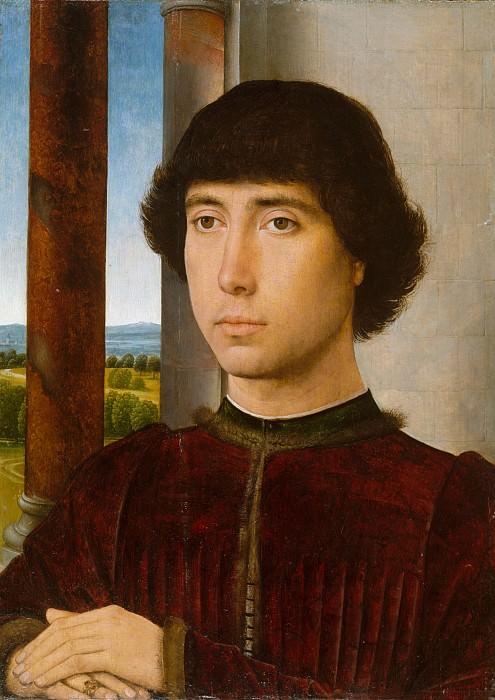Ганс Мемлинг - Портрет молодого человека. Музей Метрополитен: часть 4