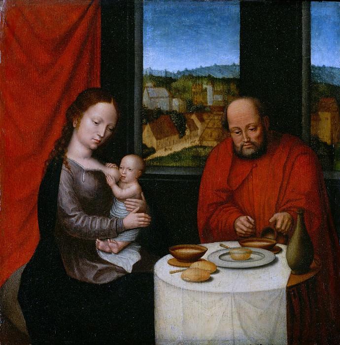 Netherlandish Painter, second half of 16th century - Virgin and Child with Saint Joseph. Metropolitan Museum: part 4