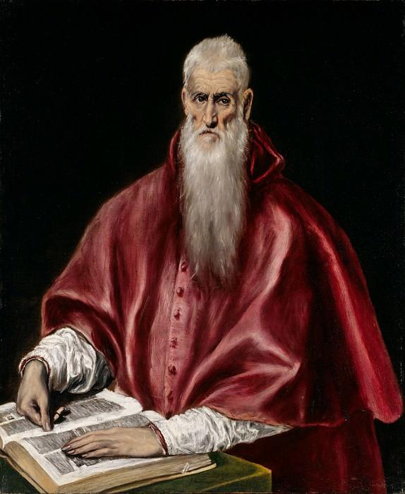 Saint Jerome. El Greco