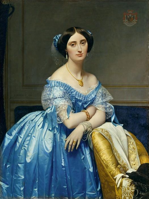 Joséphine-Éléonore-Marie-Pauline de Galard de Brassac de Béarn (1825–1860), Princesse de Broglie. Jean Auguste Dominique Ingres