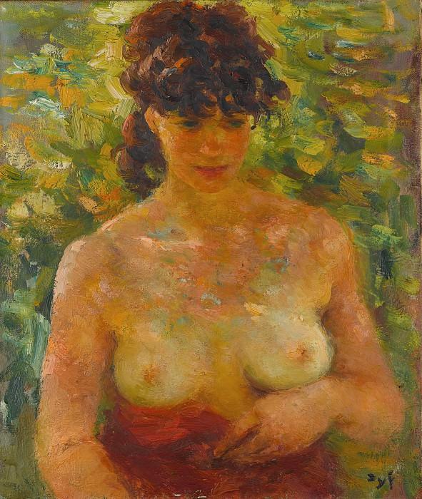 Marcel Dyf - Nude Torso in Sunlight. Metropolitan Museum: part 4
