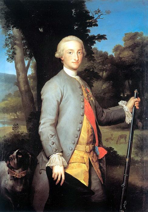 Mengs, Anton Raphael (German, 1728-1779) 2. German artists
