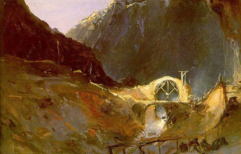 Blechen, Charles (German, 1789-1840) 3. German artists