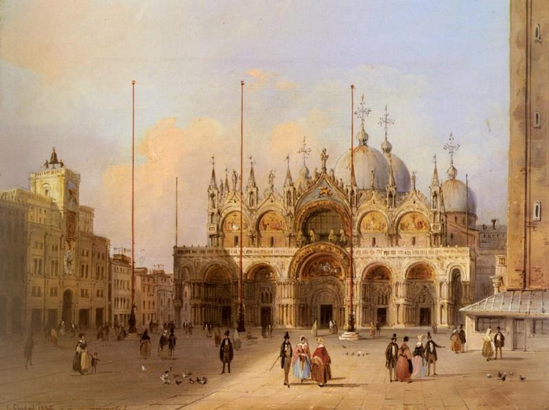 Grubacs Carlo Basilica Di San Marco. German artists