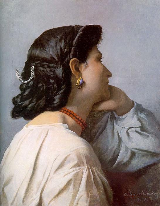 Feuerbach, Anselm (German, 1829-1880) 1. German artists