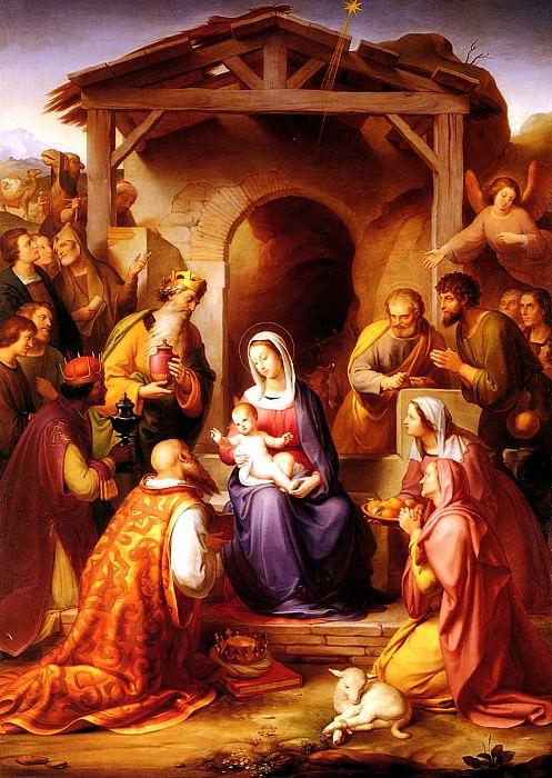 Франц фон Роден - Рождение Христа. Немецкие художники