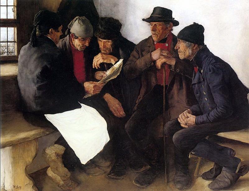 Leibl, Wilhelm (German, 1844-1900) 1. German artists