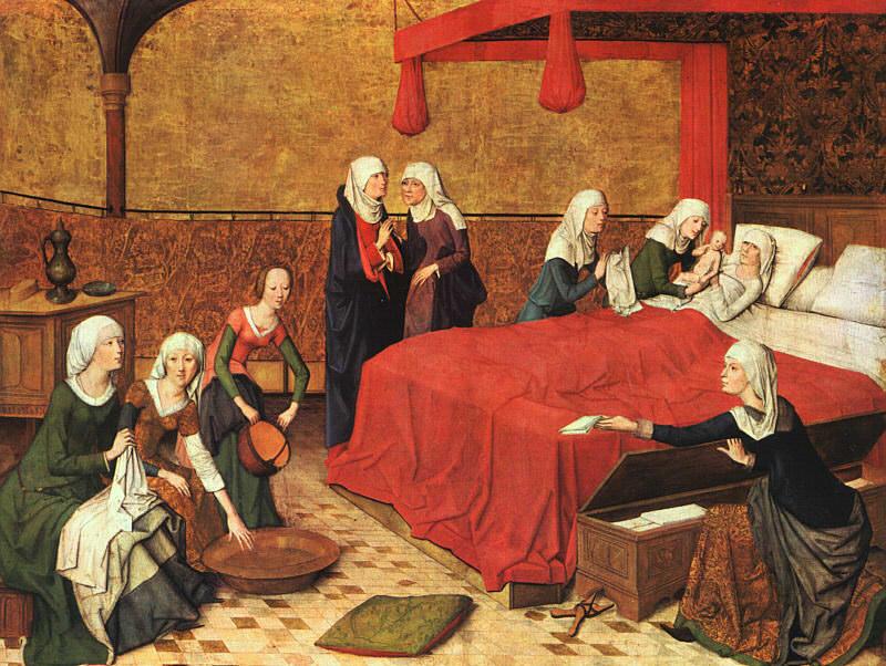 Life of the Virgin, Master of the (German, active 1460-1480). Немецкие художники