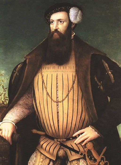 Flicke, Gerlach (German active in England, active 1545-1558). Немецкие художники