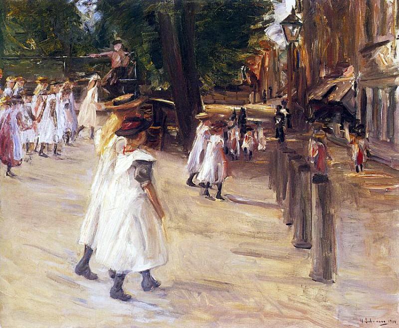 Liebermann, Max (German, 1847-1935) 1. Немецкие художники