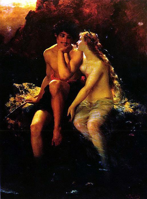 Kray Wilhelm - Romantic Idyll. German artists