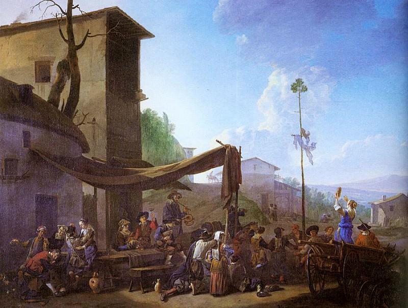 Lingelbach, Jan (German working in Amsterdam, 1622-1674 ). Немецкие художники