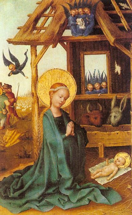 Lochner, Stephan (German, approx. 1405-1451) 2. Немецкие художники