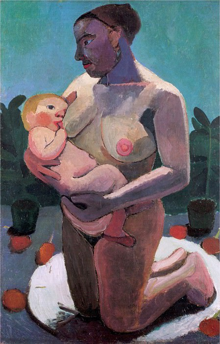 Modersohn - Becker, Paula (German, 1876-1907) 12. German artists