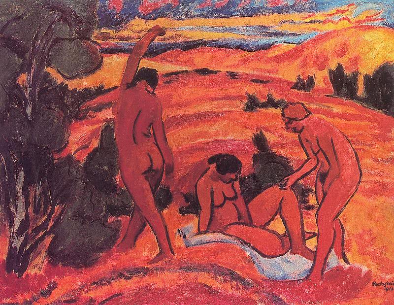 Pechstein, Max (German, 1881-1955). German artists