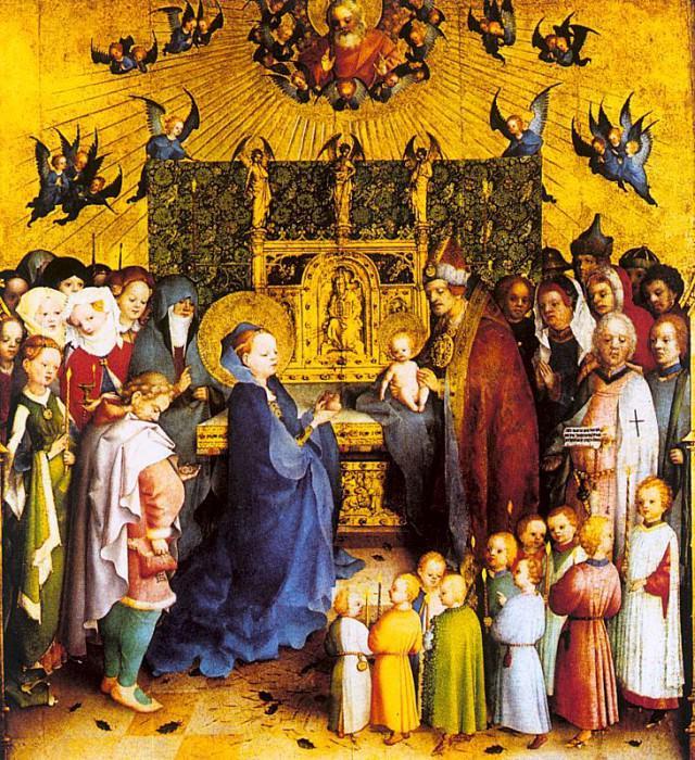 Lochner, Stephan (German, approx. 1405-1451) 3. Немецкие художники