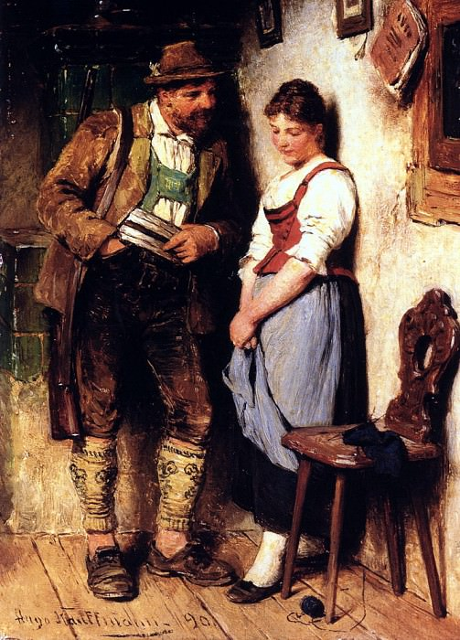 The Sweetheart. German artists