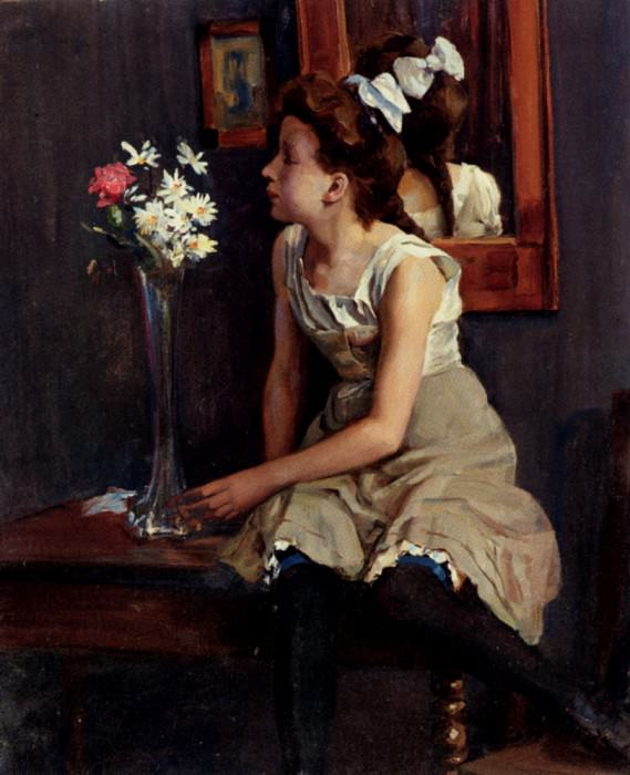 Hennig Erich Girl In The St. German artists
