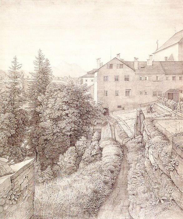 Olivier, Johann Heinrich Ferdinand (German, 1785-1841) 2. Немецкие художники