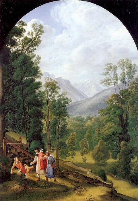 Olivier, Johann Heinrich Ferdinand (German, 1785-1841). Немецкие художники